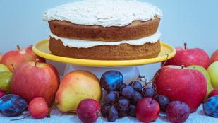 Almás szendvicssüti: egy kevés szerecsendióval és lime-mal tettük még izgalmasabbá