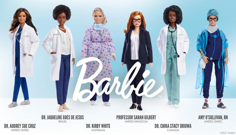 A Barbie babákat gyártó Mattel cég egy dedikált játékkollekcióval állít emléket a koronavírus-járvány női hőseinek