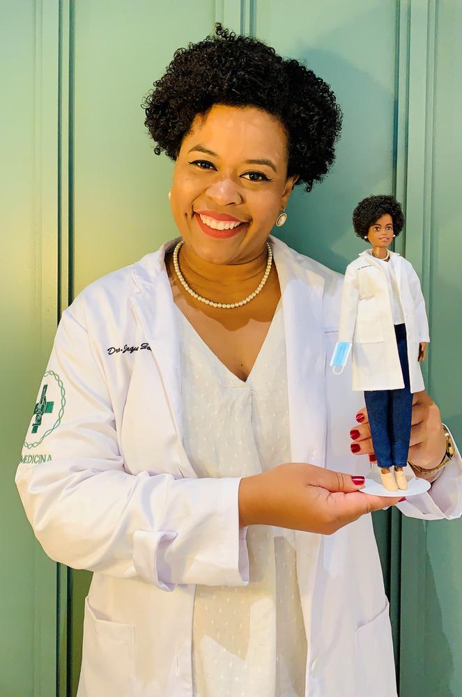 Jaqueline Goes de Jesus brazil orvosbiológiai kutató a Covid-19 variáns genomjának szekvenálását vezette Brazíliában.