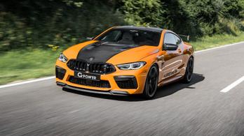 Akinek a több nem elég, annak itt a 840 lóerős G-Power BMW M8
