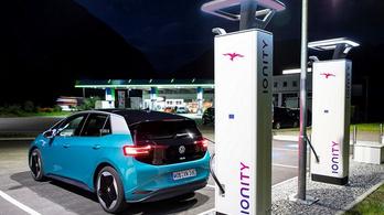 A VW vezetője megjárta az Ionity töltőhálózattal