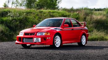 Döbbenet pénzt adtak egy Mitsubishi Lancer Evo VI TME-ért