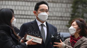 Lemaradóban a Samsung, megkegyelmeztek a lecsukott örökösnek