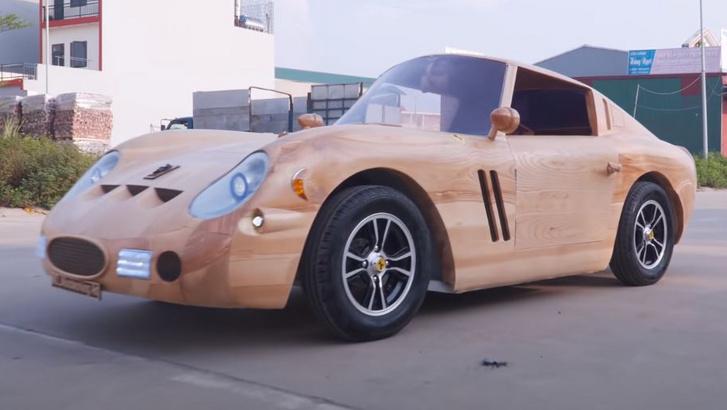 wooden 250gto