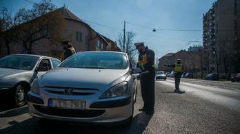 Jött a razzia, sok részeg és drogos sofőrt találtak a magyar utakon