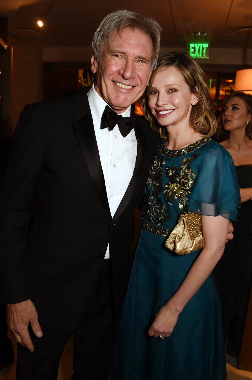 Harrison Ford és Calista Flockhart Hollywood egyik legszebb sztárpárja.