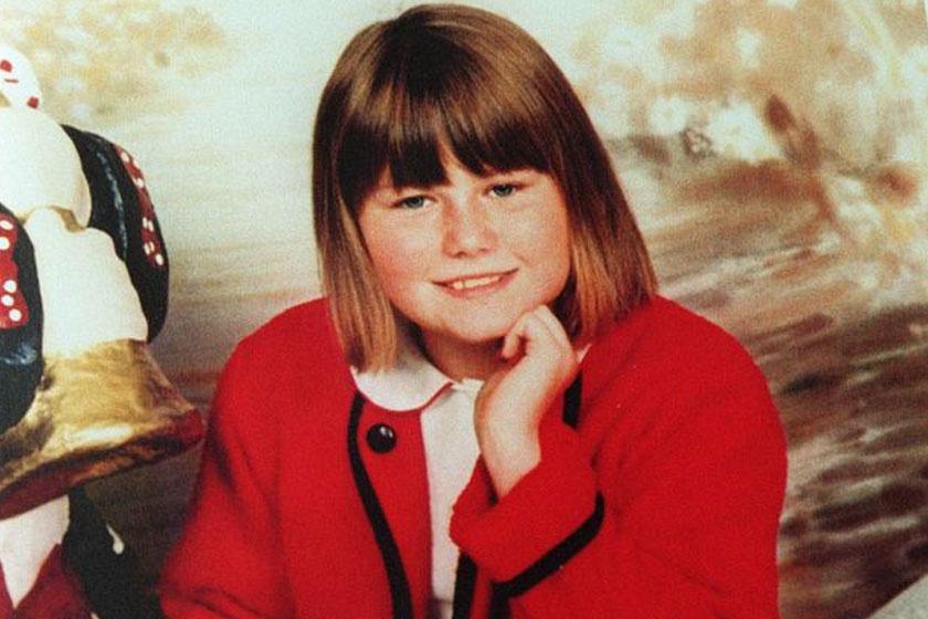 Natascha Kampusch kislányként