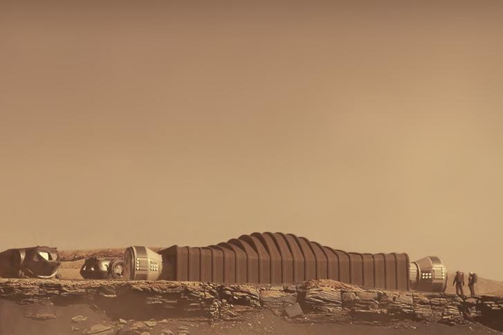 A tervek szerint így néz majd ki a Mars Dune Alpha tesztbázis