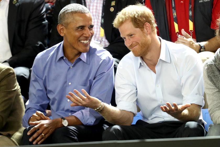 Barack Obama és Harry herceg régen nagyon jó kapcsolatot ápoltak egymással.