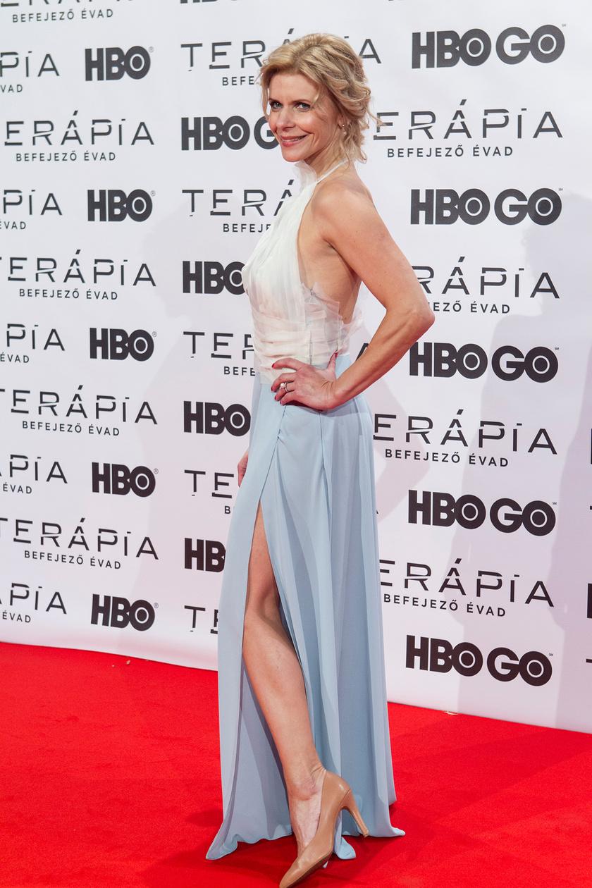 Schell Judit 2017 októberében a Terápia című sorozat harmadik évadának díszbemutatóján.
