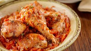 Olasz finomság egészségesen: egyszerű csirkecacciatore