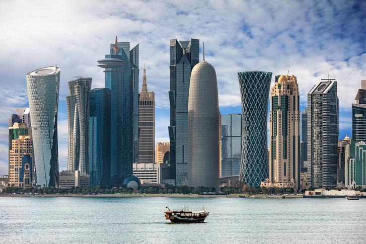 Katar fővárosa, Doha felhőkarcolói