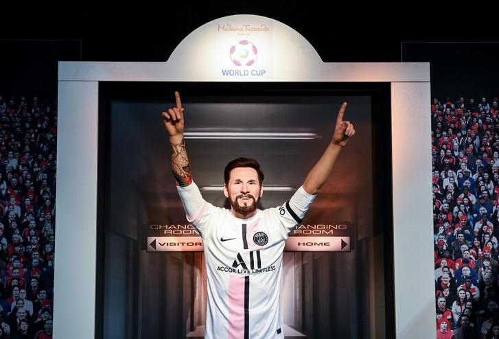 Madame Tussauds berlini panoptikumában már PSG-mezben van Messi