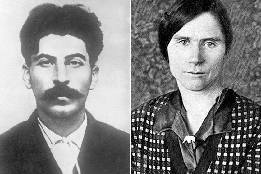 Sztálin és Lidia Pereprygina
