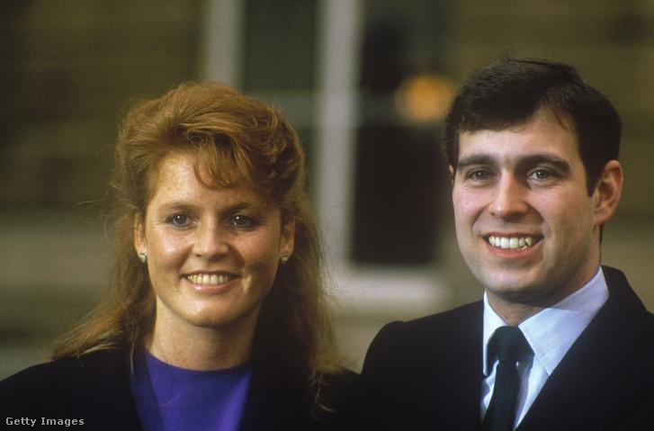 András herceg és Sarah Ferguson 1986. március 17-én
