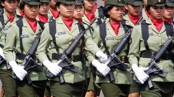 Megszüntetik az újoncok szüzességi tesztjét az indonéz hadseregben