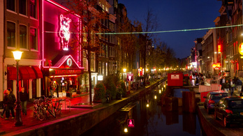 Amszterdam külterületére száműznék a vörös lámpás negyedet