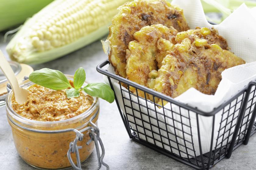 kukoricafasírt recept