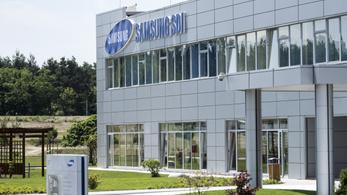 Engedély nélkül zakatol a Samsung gyára