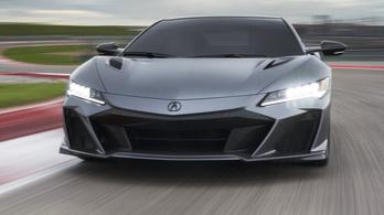Elektromos lehet a következő Honda NSX