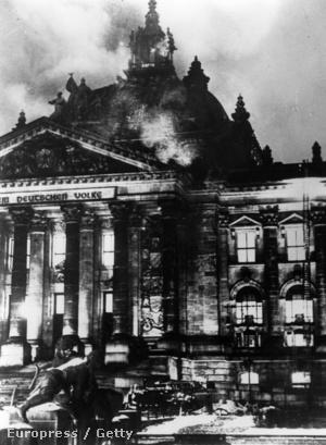 Az égő Reichstag