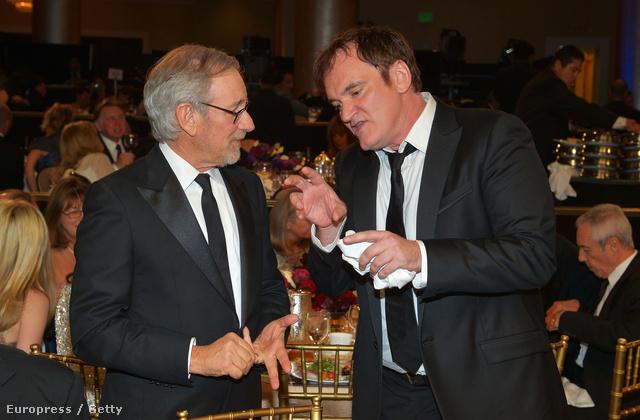Steven Spielberg és Quentin Tarantino, aki már volt zsűrielnök Cannes-ban