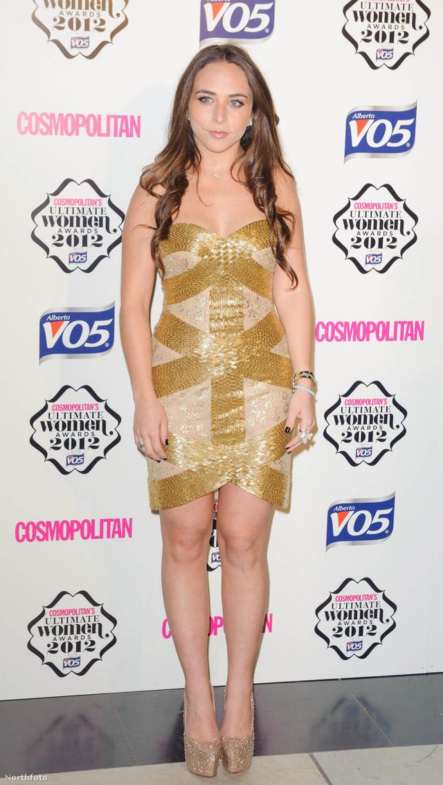 Chloe Green a 2012-es Cosmopolitan gáláján Londonban