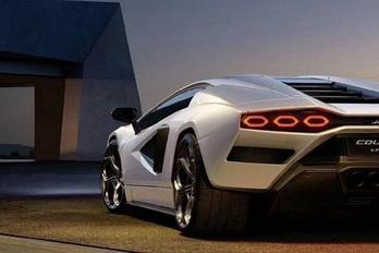 Kiszivárgott a Lamborghini Countach