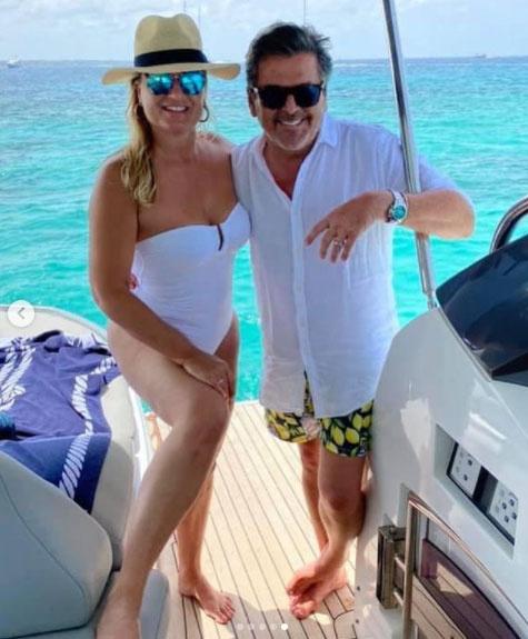Thomas Anders és Claudia jelenleg Formenterán nyaralnak.