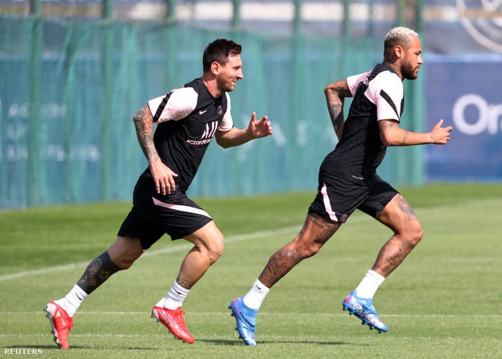 Lionel Messi és Neymar