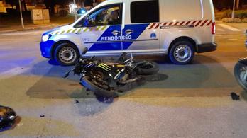 Motorost csapott el egy autó a Margit hídnál