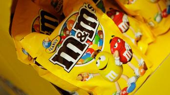 M&M's cukorkát hívnak vissza az ukrán boltokból génmódosított összetevő miatt