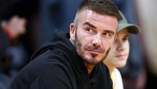 David Beckham megmutatta, hogyan gyúrja magát kőkeményre