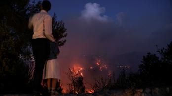 Erdőtűz tombol Jeruzsálemben