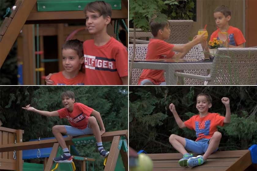 Krisztián és Adrián nagyon jó testvérek, csak ritkán kapnak hajba.