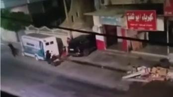 Palesztin fegyveresekkel csaptak össze izraeli katonák, négyen meghaltak