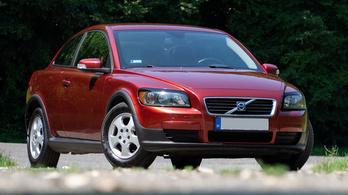 Használtteszt: Volvo C30 1.6 – 2009.