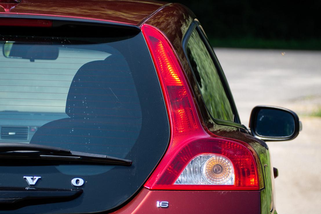 Innen jól látszik a legendás Volvo-váll