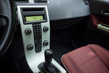A C30, S40, V50 sorozatra jellemző középkonzol
