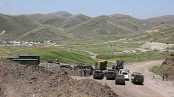 Összecsaptak a katonák az azeri-örmény határon, két ember meghalt