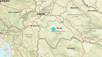 Újra földrengés rázta meg Horvátországot