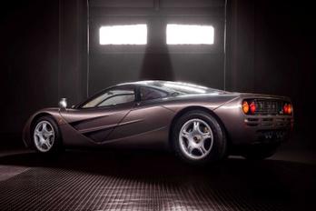 Hatmilliárdot ért az újszerű McLaren F1