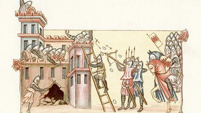 Pestises hullák, tehenek és görögtűz – szinte bármit bevetettek fegyverként a középkori várostromok során
