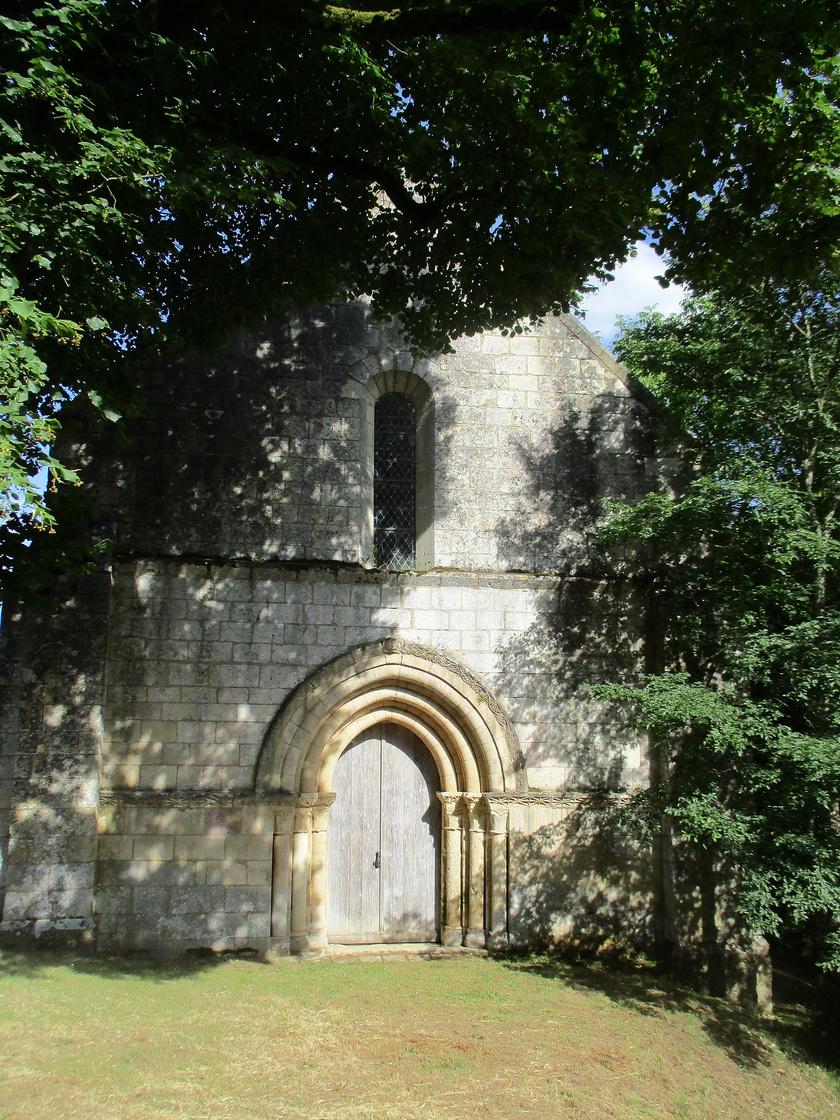 Chapelle de Plaincourault, à Mérigny