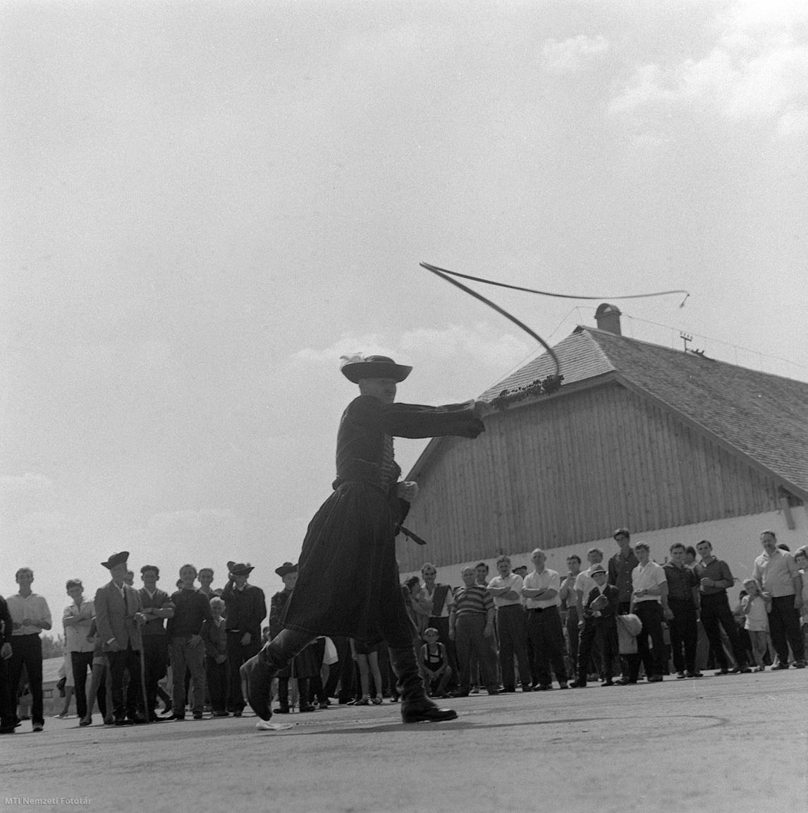 Pásztortalálkozó a Hortobágyi Csárdánál 1967. augusztus 19-én