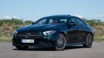 Teszt: Mercedes-Benz CLS 400d 4Matic - 2021.