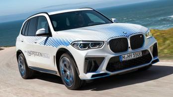 Ősszel jön a hidrogénes X5-ös BMW