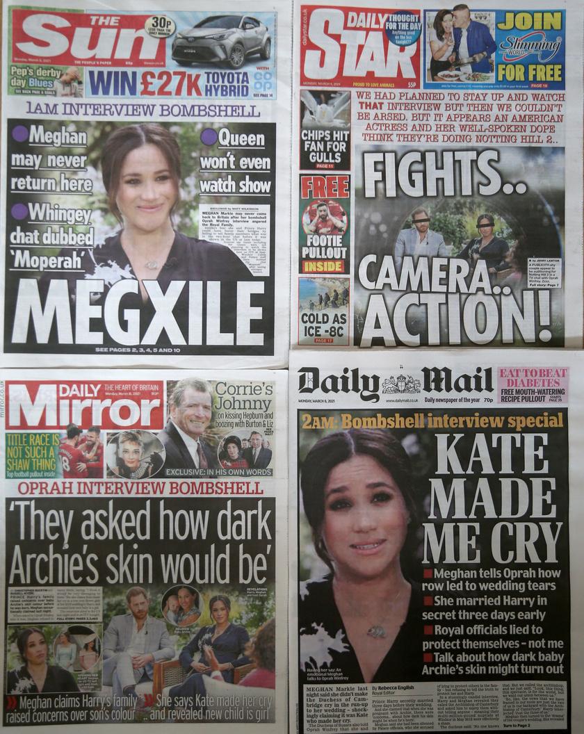 A márciusi botrányinterjú után hetekig Meghan és Harry volt a téma a sajtóban.