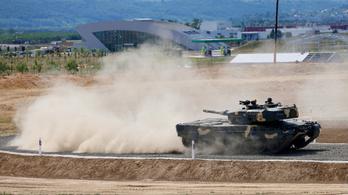 Vigyázat, ha jön a Leopard a Városligetbe