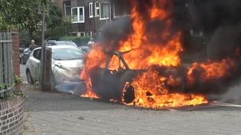 Porig égett egy Volkswagen ID3